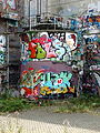 20140727 Graffiti at Landbouwbelang Building in Maastricht 02.jpg