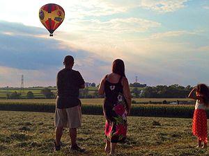 Bird-in-Hand, Pennsylvania - Hot Air Balloon ride