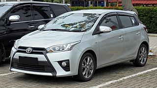 Toyota Yaris (XP150) Subcompact car manufactured by Toyota