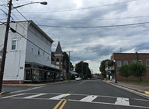 Mount Jackson, Virginia - Main Street in Mount Jackson