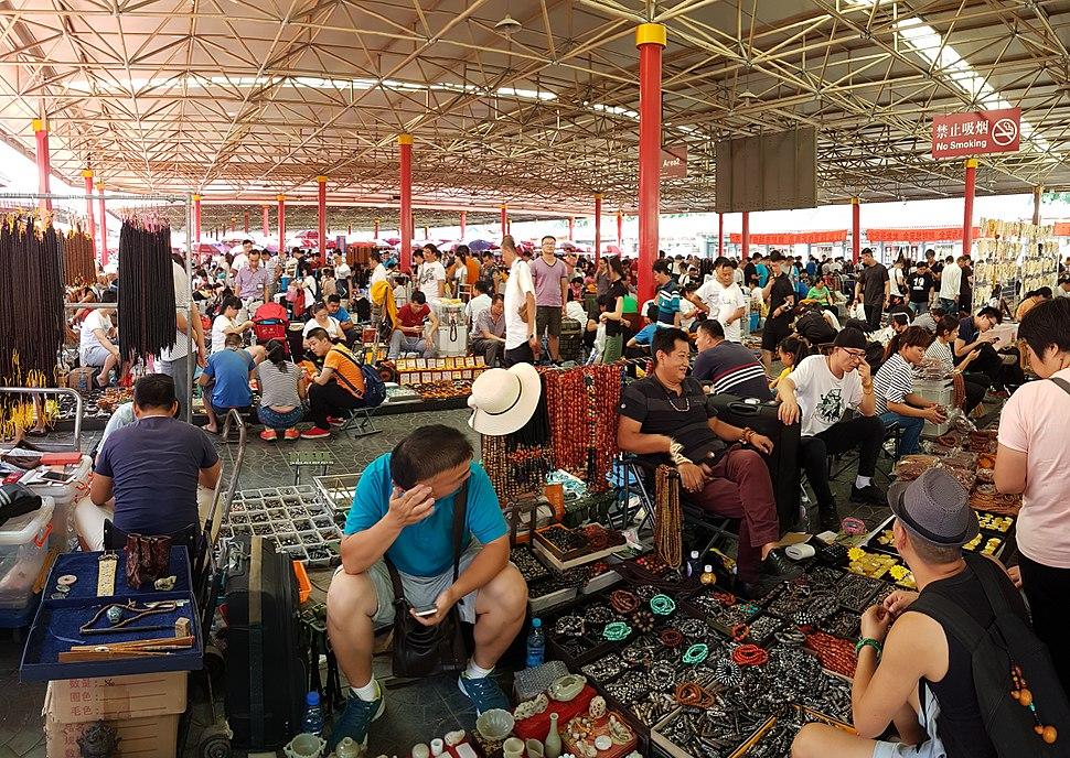 2016-09-10 Beijing Panjiayuan market 74 anagoria
