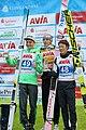 2017-10-03 FIS SGP 2017 Klingenthal Siegerehrung Gesamt-GP2017 Lanišek-Kubacki-Kobayashi.jpg