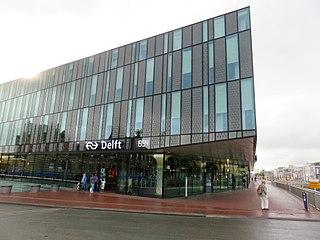 Delft railway station railway station in Delft
