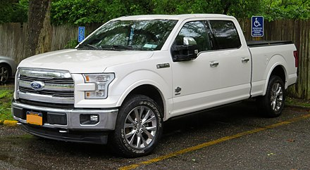 The 2017 model year F-150 2017 Ford F-150 front 5.19.18.jpg