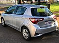 2018 Toyota Yaris (NCP130R) Ascent 5-door hatchback (2018-03-02) 02.jpg