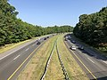 2019-07-25 09 05 09 View north along Interstate 97 (Patuxent Freeway) from the overpass for Hawkins Road in Crownsville, Anne Arundel County, Maryland.jpg