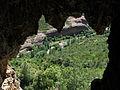 209 La vall de Sant Miquel i els cingles de Bertí des de la cova de les Tosques.JPG
