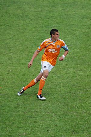 Geoff Cameron - Cameron playing for Houston Dynamo