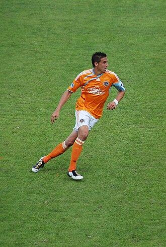Geoff Cameron - Cameron playing for Houston Dynamo