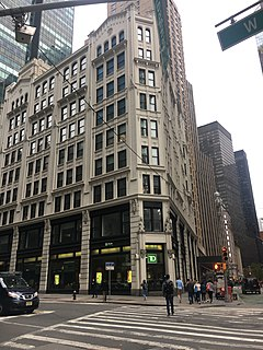 224 West 57th Street Commercial building in Manhattan, New York