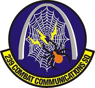 239th Combat Communications Squadron - 239th Combat Communications Squadron emblem