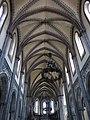 240 Església nova de Santo Tomás de Canterbury (Sabugo, Avilés), volta de la nau.jpg