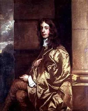 Secretary of State for the Southern Department - Image: 2nd Earl of Sunderland