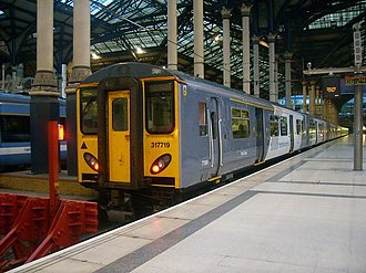 Stansted Express - Image: 317719 Nat Ex East Anglia LST