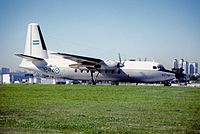 320ar - Argentina - Air Force Fokker F-27-400M Troopship; TC-74@AEP;23.09.2004 (4733725727).jpg