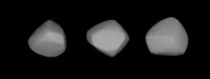 345 Tercidina - A three-dimensional model of 345 Tercidina based on its light curve