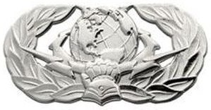 Air Force Specialty Code - Image: 3DXXX Basic Badge