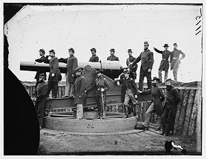 3rd Regiment Massachusetts Volunteer Heavy Artillery -  Officers of the 3rd Massachusetts Heavy Artillery, 1865