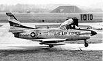 526th Fighter-Interceptor Squadron North American F-86D Sabre 51-6206.jpg