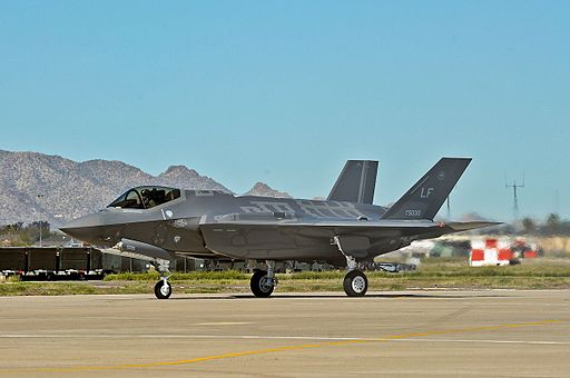 61st Fighter Squadron F-35 Lightning II