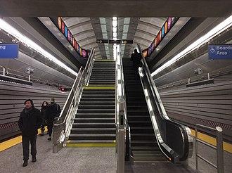 72nd Street (Second Avenue Subway) - Escalator to mezzanine