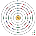 79 gold (Au) enhanced Bohr model.png