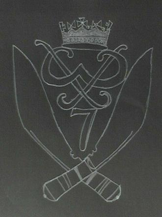 7th Duke of Edinburgh's Own Gurkha Rifles - Cap badge of the 7th DEO Gurkha Rifles