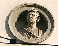 8812 Milano - Via Manzoni - Palazzo Brentani - Andrea Appiani - Foto Giovanni Dall'Orto 14-Apr-2007.jpg