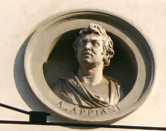 Andrea Appiani - Bust of Andrea Appiani   at Palazzo Brentani in Milan (1829/30)