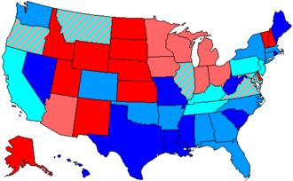 91st United States Congress - Image: 91 us house membership
