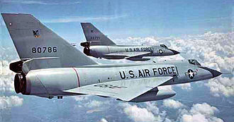 94th Fighter Squadron - 94th Fighter-Interceptor Squadron F-106A, AF Ser. No. 58-0786, Selfridge AFB, Michigan