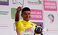 9 Etapa-Vuelta a Colombia 2018-Ciclista Jonathan Caicedo-Lider Clasificacion General.jpg