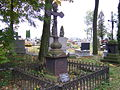 9 Kościelec cmentarz - nagrobek z II poł. XIX w. (20.X.2007).JPG