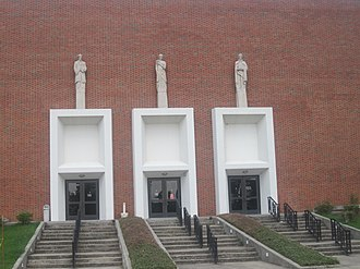 A. A. Fredericks - The principal auditorium at Northwestern State University is named for A.A. Fredericks.