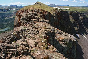 Flat Tops Wilderness Area - Devils Causeway ridgeline