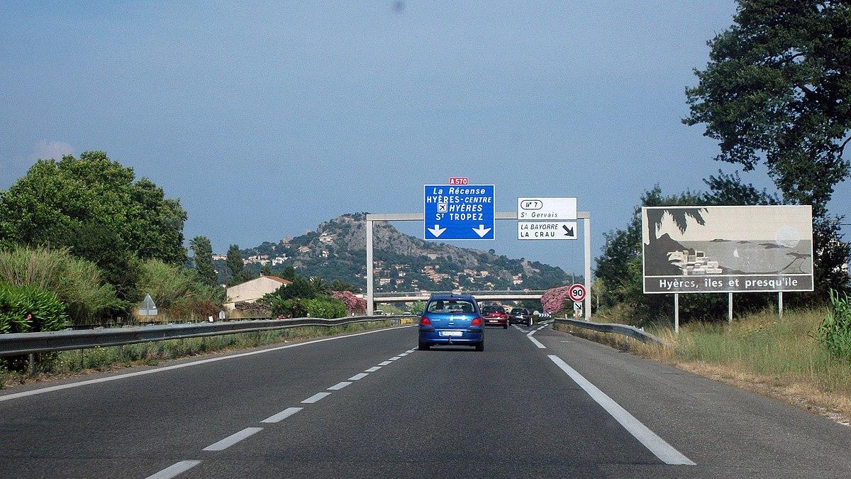 autoroute a570 (france) — wikipédia