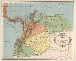 AGHRC (1890) - Carta II - Divisiones coloniales de Tierra Firme, 1538.jpg