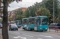 AKSM-60102 tram on Jakuba Kolasa street (Minsk, Belarus) — 1.jpg