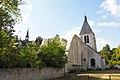 ANCIEN PRIEURE, CHATEAU ET EGLISE SAINT NICOLAS DE VILLEMOUTIERS (Loiret).jpg