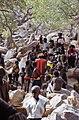 ASC Leiden - W.E.A. van Beek Collection - Dogon markets 27 - Market scene in Tireli, Mali 1990.jpg