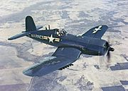AU-1 Corsair in flight 1952