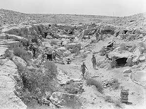 2/23rd Battalion (Australia) - 2/23rd positions in Libya, August 1941