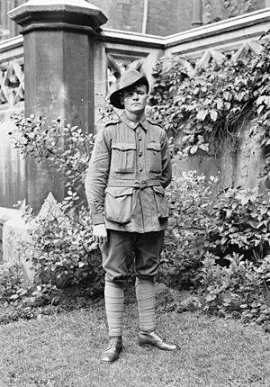 Jørgen Jensen (soldier) - Corporal Jørgen Jensen, August 1918