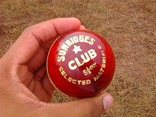 Cricket ball hard, solid ball used to play cricket