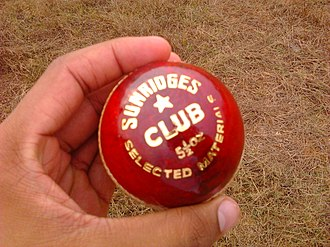 Cricket ball - A cricket ball