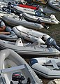 A cluster of yacht tenders at Salcombe - geograph.org.uk - 1507367.jpg