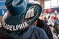 A fan's Philadelphia Eagles sombrero at Super Bowl LII, Minneapolis MN (40083999432).jpg