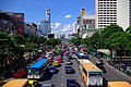A great traffic jam of the Central world side.セントラルワールド横の大渋滞 - panoramio.jpg