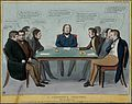 A group of politicians debate at a coroner's inquest whether Wellcome V0050267.jpg