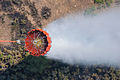 A helicopter bucket is used by a U.S. Army CH-47 Chinook helicopter crew assigned to the 2nd Battalion, 135th Aviation Regiment, Colorado Army National Guard to help fight the East Peak wildfire near La Veta 130621-Z-UA373-285.jpg